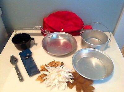 Boy Scout /BSA Mess Kit Camping Cookware Tools