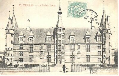 Carte Postale - (58) Nièvre - Nevers - Le Palais Ducal