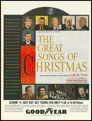 1962 vintage ad for 'Great Songs of Christmas' -42