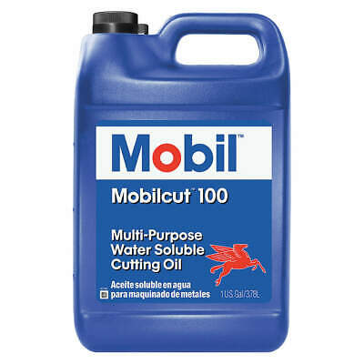 Mobilcut 100, Cutting Oil, 1 gal, 121095, Yellow