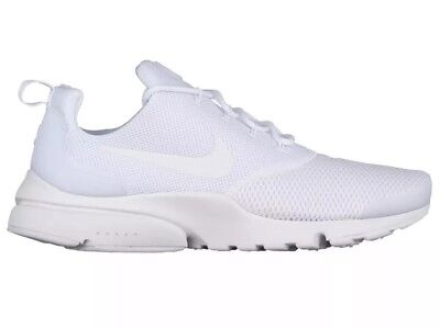 various colors 5a0e2 dff24 Nike Presto Fly Mens Sz 10 Running Training Shoes Triple White 908019-100  NEW