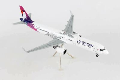 Airplane Hawaiian Airlines Airbus A321_NEO Reg.N488HA Diecast Model Aircraft