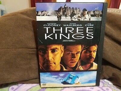 Three Kings (DVD, Widescreen, Rated R)