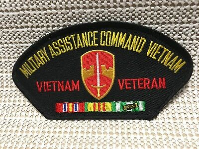 Us Army Military Assistance Command Vietnam Veteran Hat Patch