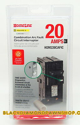 Square D by Schneider Electric HOM220CAFIC Homeline 20 Amp Two-Pole CAFCI ,