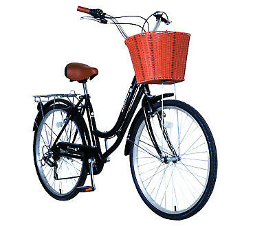 Collection 26'' 6 speeds Girls City Dutch Style Shopper Bicycle Bikes Grade A