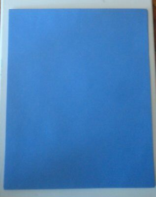 Scrapbooking - Creative Memories 10 Sheets Blue Photo Mounting Papers