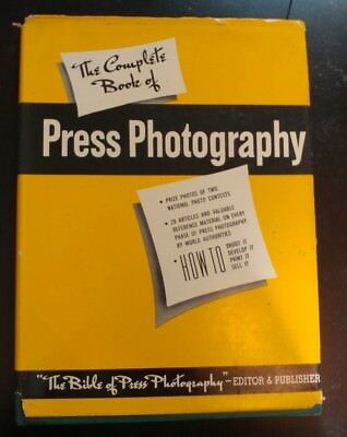 1950 The Complete Book Of Press Photography Hb Book