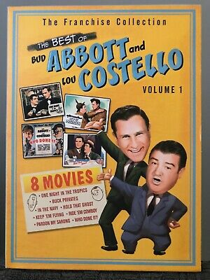 The Best of Abbott & Costello - Volume 1 (DVD, 2004, 2-Disc Set)