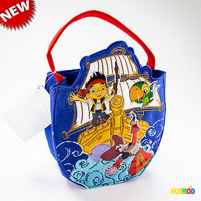 NEW Disney Store Jake and the Never Land Pirates Halloween Trick or Treat Bag