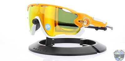 9886720b32 Oakley Jawbreaker Sunglasses OO9290-09 Atomic Orange w  Fire Iridium  Polarized