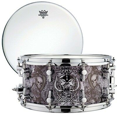 """Sonor SSD12 14x7, 25 Snare Drum Mikkey Dee + Remo Coated 14 """" Fur"""