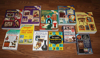RARE Large ANTIQUE PRICE GUIDE BOOKS, Schroeder's, Lyle, Rinker. FREE SHIPr