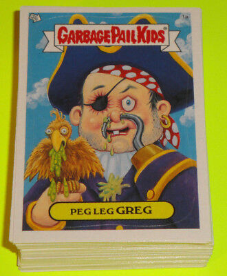 2004 GARBAGE PAIL KIDS ANS2 All New Series 2 - Complete Set 80 Cards w/ Wrapper