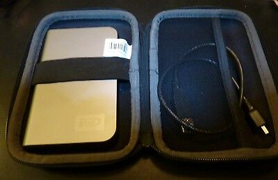 WD WD2500ML-00 250GB MY PASSPORT ELITE Titanium USB HDD with case logic case