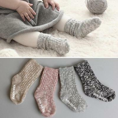 Eocom Children's Winter Warm Wool Striper Socks For Kids Boys Girls