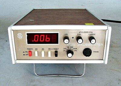 RFL Industries #912 Gaussmeter with power cord No probe