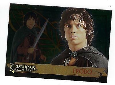 LORD of the RINGS Evolution  trading cards(Topps)  PROMO Card #P1 FRODO