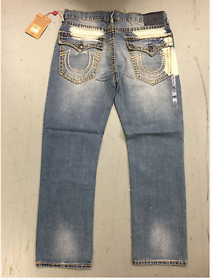 Men's True Religion Ricky With Flap Super T Mens Jeans Free Shipping