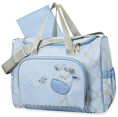 Tender Kisses Giraffe 2 in 1 Diaper Bag