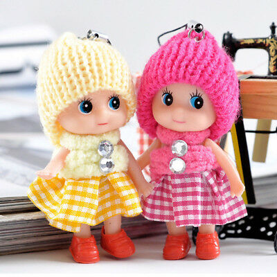 5Pcs Kids Toys Soft Interactive Baby Dolls Toy Mini Doll For Girls and Boys Lot