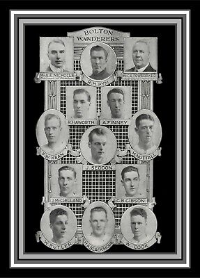 Collectors/Photograph/Print/Bolton Wanderers/Team/Photo/1929/FA/Cup/Winners