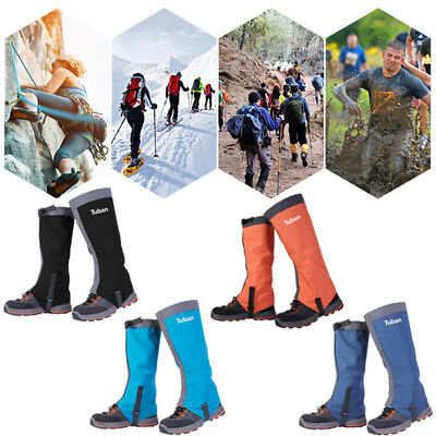 A Pair Of Waterproof Outdoor Hiking Gaiters Snow Hunting Legging Shoes Leg Coves