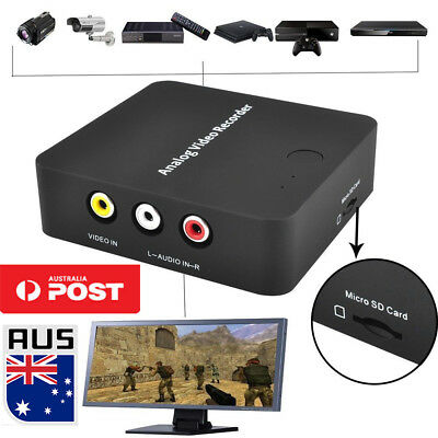 VHS To Digital Converter Video Recorder for Hi8 VCR DVD DVR Camcorder Digitizer