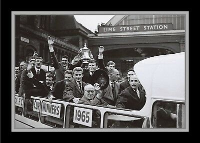 Collectors/Photograph/Print/7 x 5 Photo/Liverpool 1965 FA Cup Winners