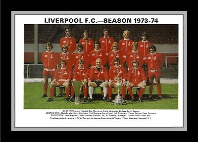 Collectors/Photograph/Print/7 x 5 Photo/Liverpool 1973/74 Season FA Cup Winners