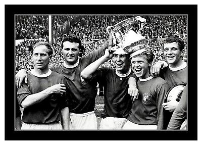 Collectors/Photograph/Print/7 x 5 Photo/Manchester United 1963 FA Cup Winners 1