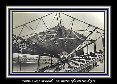 Collectors/Photograph/Print/7 x 5 Photo/Portsmouth/Fratton Park/South Stand (2)