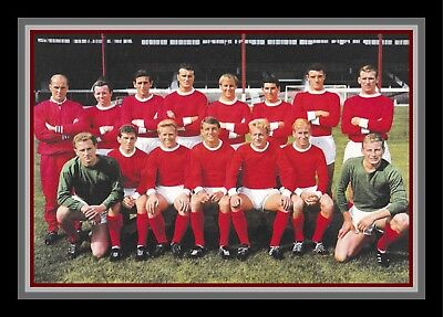 Collectors/Photograph/Print/7 x 5 Photo/Manchester United 1962/63 Season Team