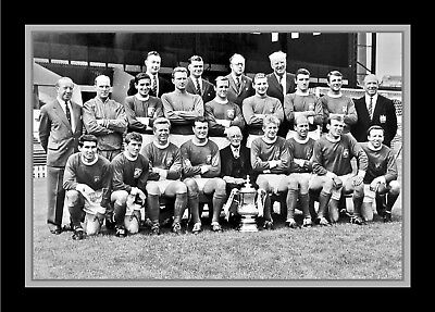 Collectors/Photograph/Print/7 x 5 Photo/Manchester United 1963/64 Season FA Cup