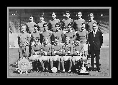Collectors/Photograph/Print/7 x 5 Photo/Manchester United 1965/66 Champions