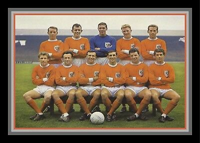 Collectors/Photograph/Print/7 x 5 Photo/Blackpool FC  c1963 Team Photo