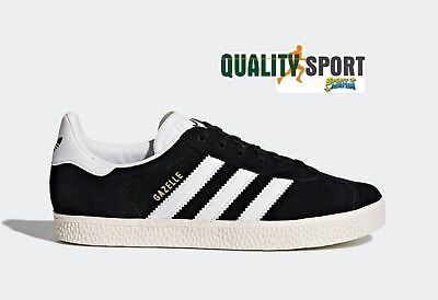 huge selection of def36 65c17 Adidas Gazelle Nero Scarpe Shoes Donna Ragazzo Sportive Sneakers BB2502 2019
