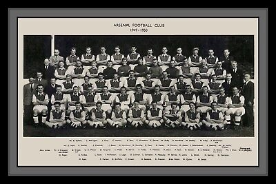 Photograph/Photo/Presentation/Print/Arsenal Squad 1949/50 Season