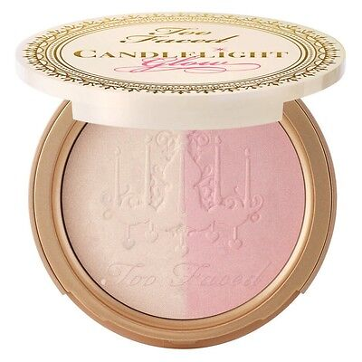 TOO FACED Candlelight Glow Highlighting Powder Duo in ROSY GLOW 10g