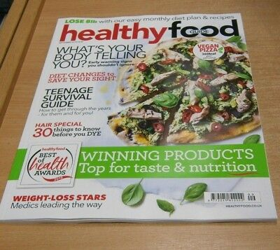 Healthy Food Guide magazine SEP 2018 Vegan Pizza, Teenage Survival Guide, Awards