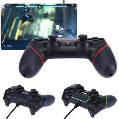 USB Wired Game Controller Joystick Gamepad Controller For PS4 Play-Station 4 New