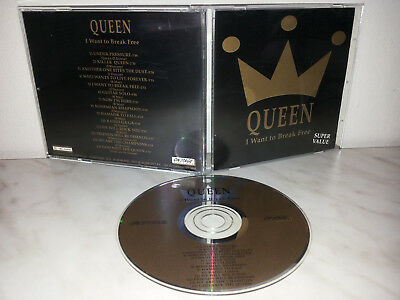 Cd Queen - I Want To Break Free - Live Wembley