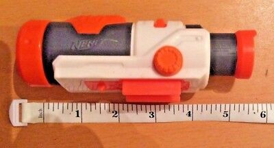 NERF N-Strike Modulus ECS-10 Blaster White Scope 6' Inch Rail Attachment