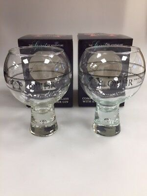 OPIHR ORIENTAL SPICED GIN GLASS - BRAND NEW & BOXED - PUB BAR PARTY OPHIR x 2
