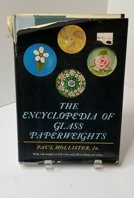 The Encyclopedia of Glass Paperweights by Paul Hollister, Jr. Hardcover, 312 pgs