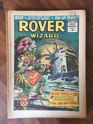 Rover and Wizard 1965 49 Issues. Comic Western Monsters WAR