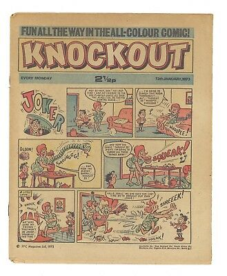 Knockout Comic 1973 15 Issues