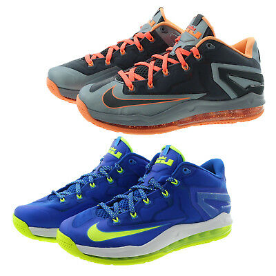 ae137fd8e5d Nike 642849 Mens Max Lebron XI 11 Sprite Low Top Running Shoes Sneakers