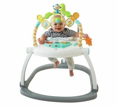 Baby Shop For Cheap Fisher-price Rainforest Spacesaver Jumperoo│portable/adjustable Baby Bouncer│new Clients First
