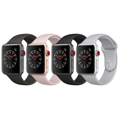 Apple Watch 42mm Series 3 GPS + Cellular with Sport Band MQK12LL/A